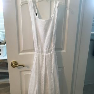 BCBG White Dress